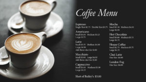 BMB_Coffee Menu
